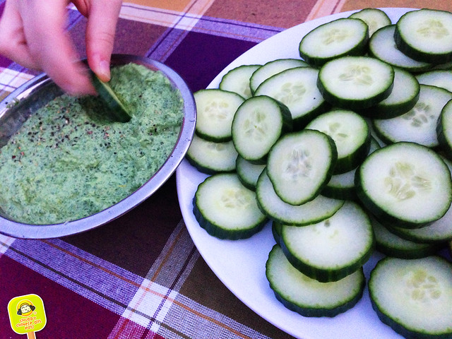 north brooklyn farm supper club - vegetables dip
