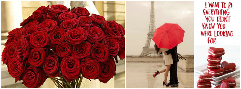 Romance in Paris Facebook Timeline Cover