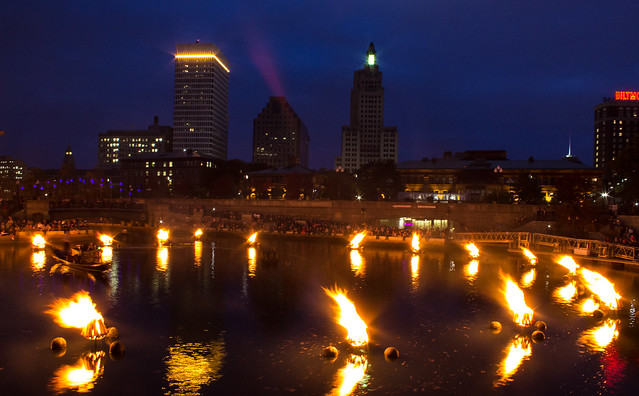 Providence Waterfire - Basin