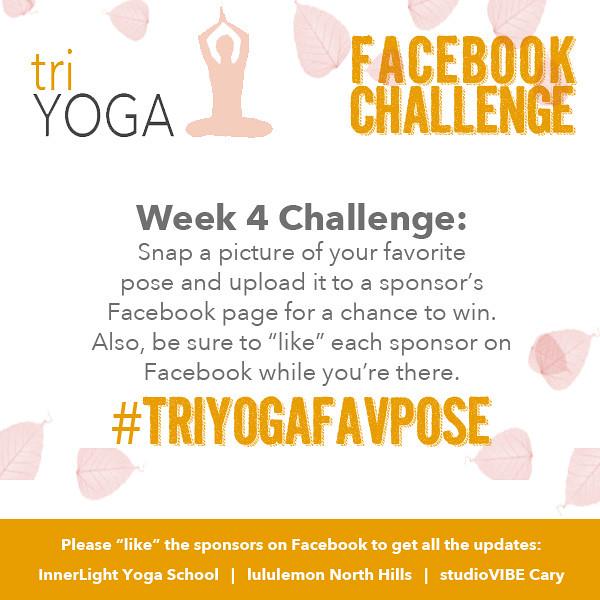 triYOGA Fall Facebook Challenge with studioVIBE, InnerLight Yoga School, and lululemon.