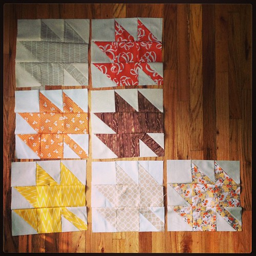 7 more #modernmaples blocks done today. #tmssews #sewing #quilting
