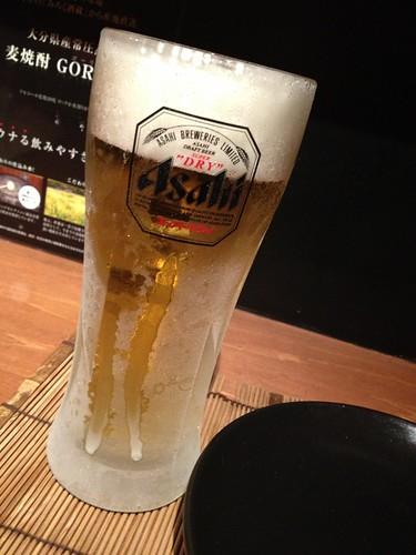 生ビール@九州料理 流