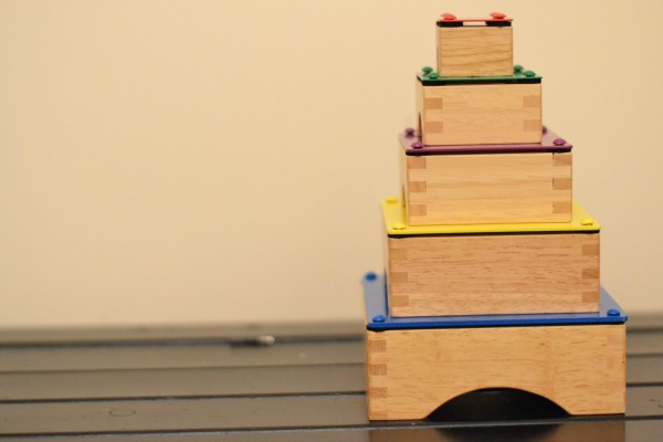 stack xylophone wooden