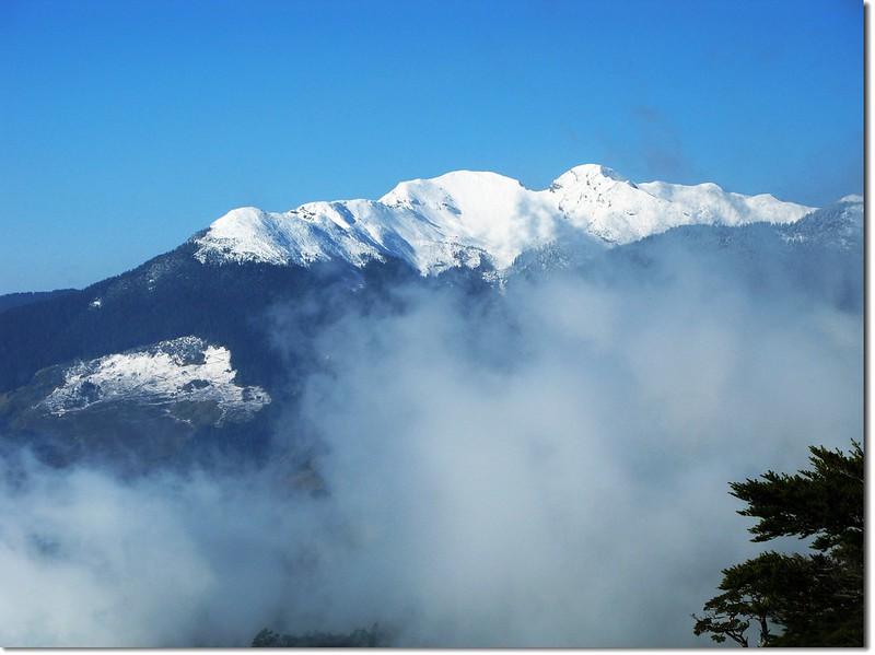 雪山(From 池有山腰) 4