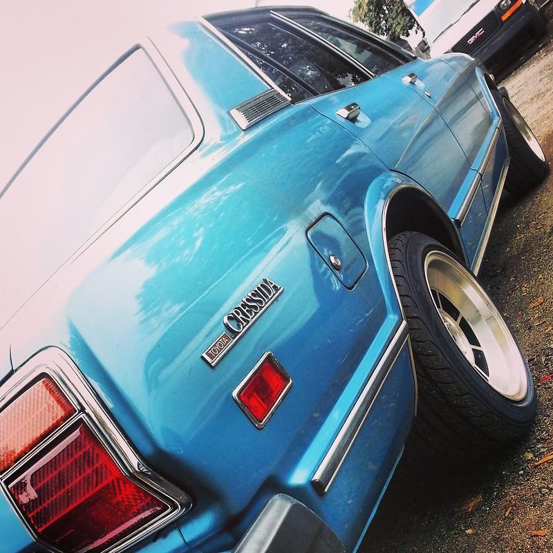 '79 Blue Metallic X3 in Massachusetts  11072146934_d749294d9e_c