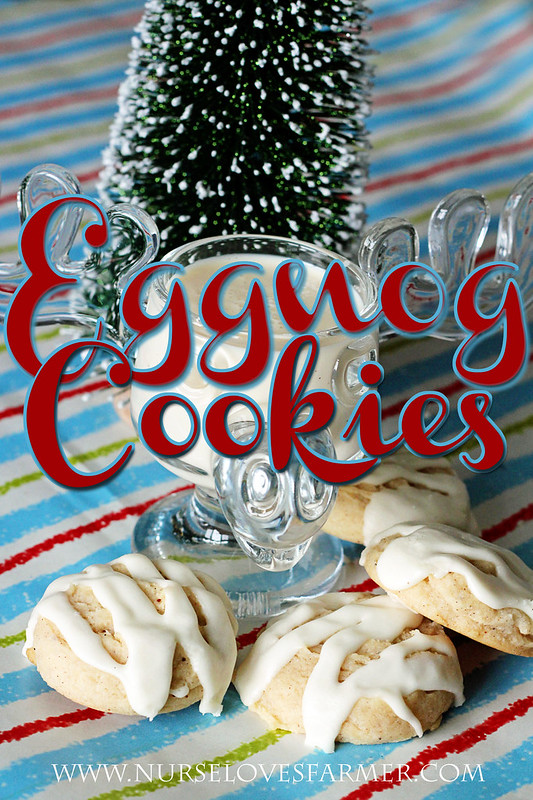 Eggnog Cookies by Nurse Loves Farmer
