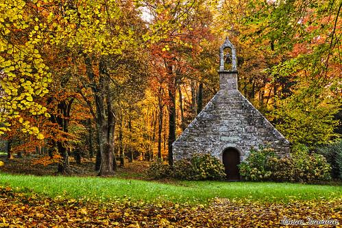 La chapelle du Hénan à Pont-Aven.