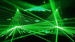 light, laser, line, green, lens flare,