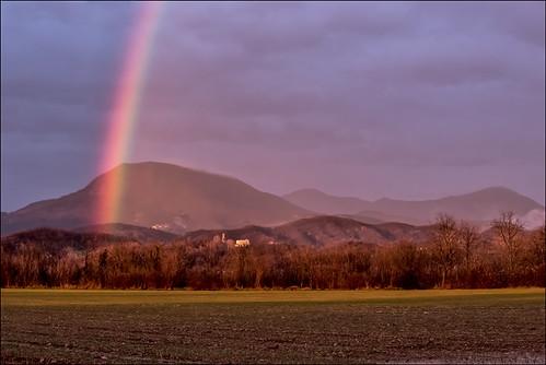 italy italia arcobaleno friuli castelnovodelfriuli
