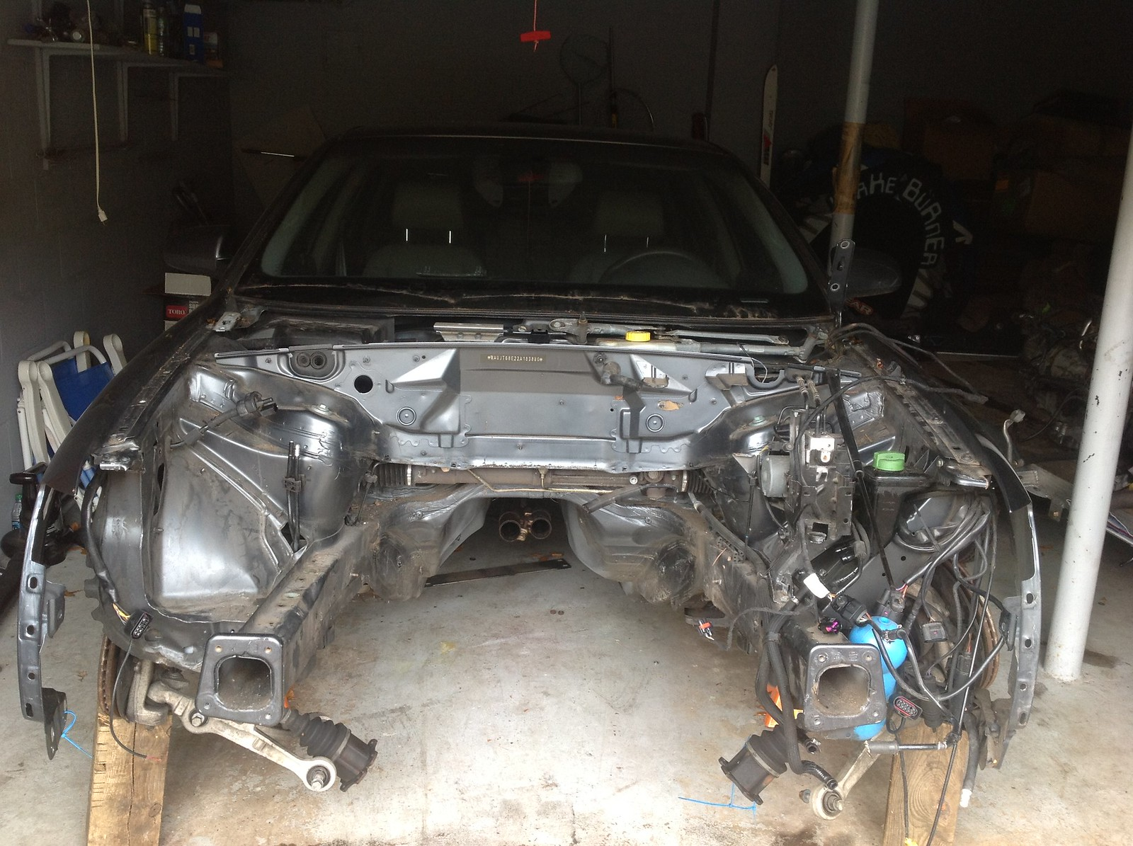 Audi B6 A4   LSx swap   Twin Turbo
