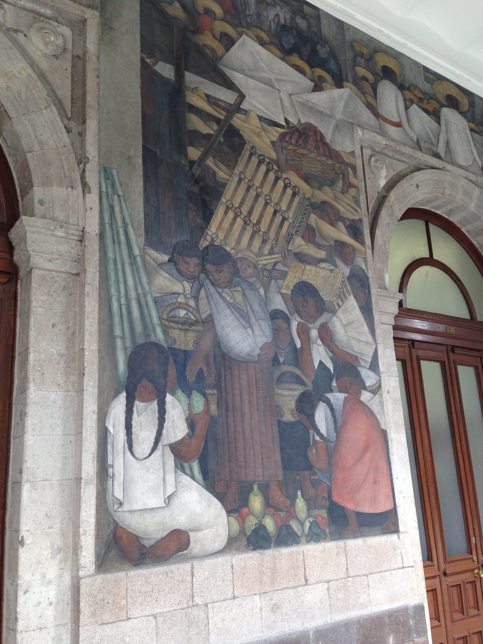 Murals by diego rivera at the ministry of education for Education mural