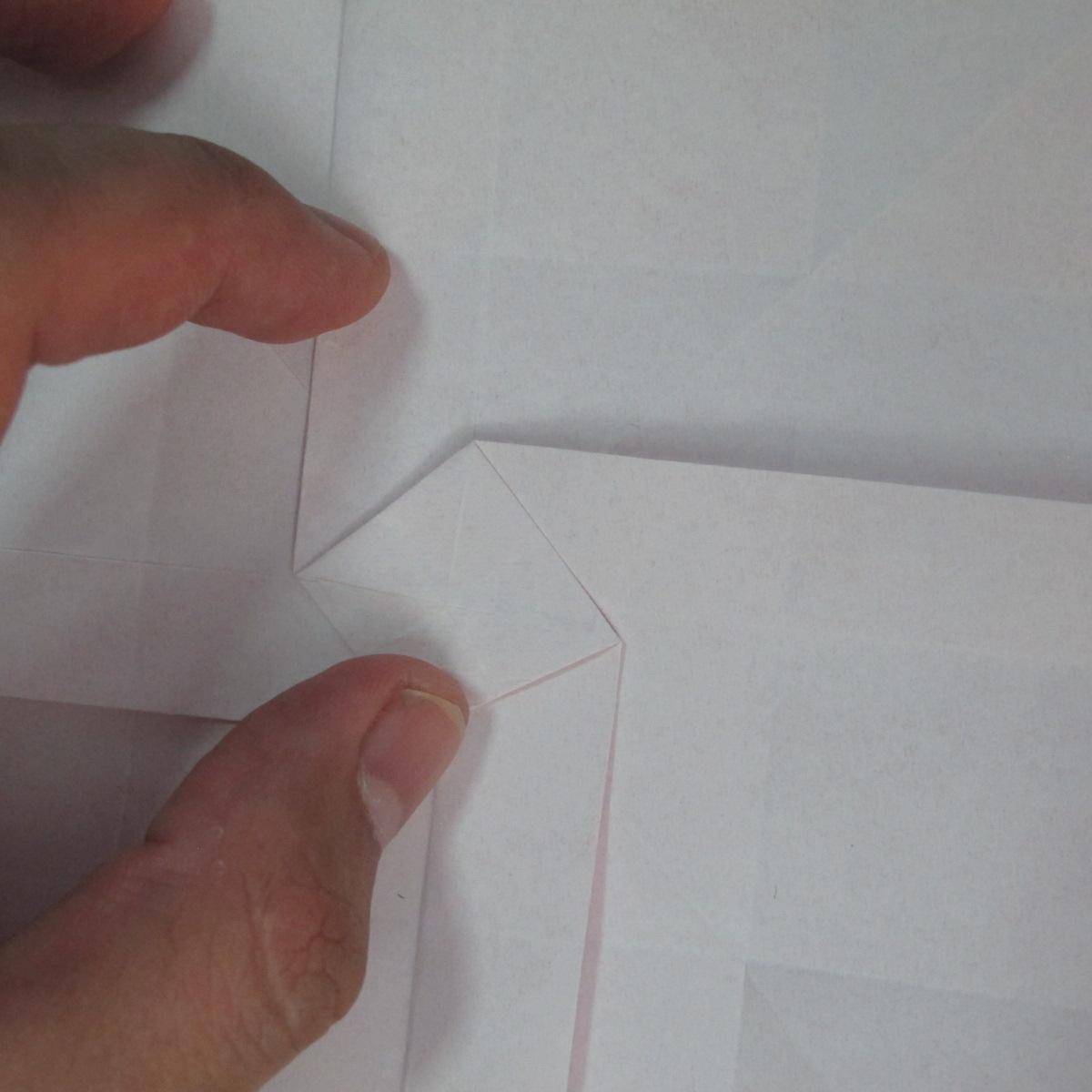 วิธีพับกระดาษพับดอกกุหลาบ 025