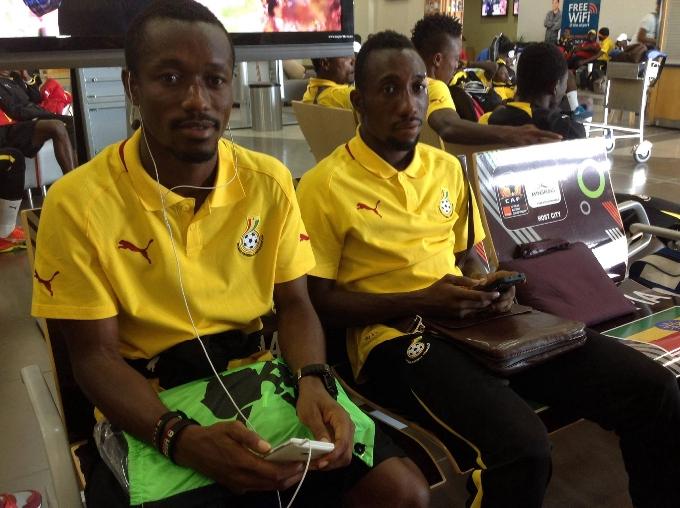 Michael Akuffo and Lattif Mohammed