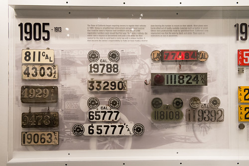 California License Plates 1905-1913