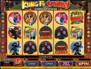Kung Fu Monkey Slot Machine