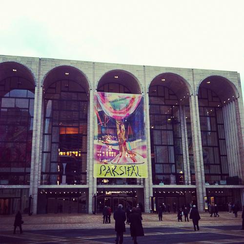 Einmal in der Oper in New York