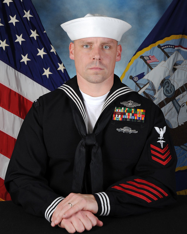 HM1 (FMF/EXW/PJ) Jeremiah D. McArthur - Precommissioning Unit Jackson (LCS 6) 2013 Sailor Of the Year Finalist