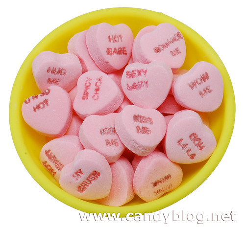 Necco Sweethearts Hot Hearts