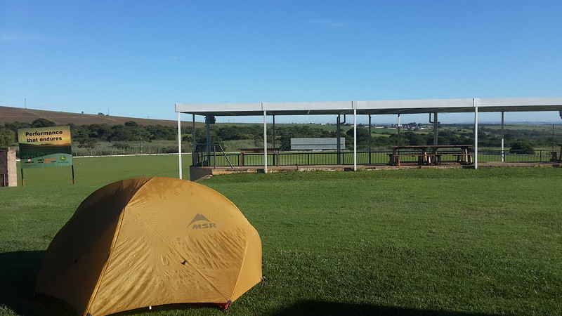 Camping at Ermelo Farmer's club