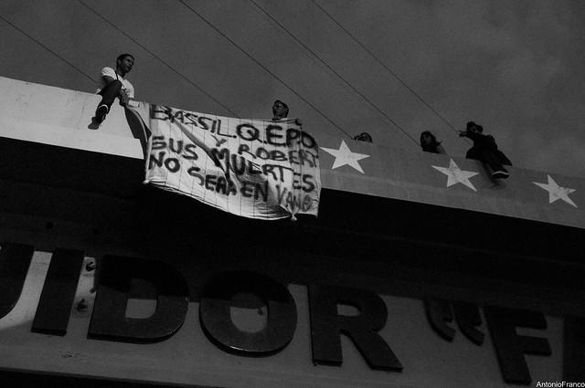 Protestas en Venezuela - 15-02-14