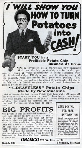 POTATOES INTO CASH by WilliamBanzai7/Colonel Flick