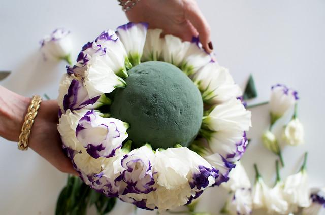 DIY Floral Ball