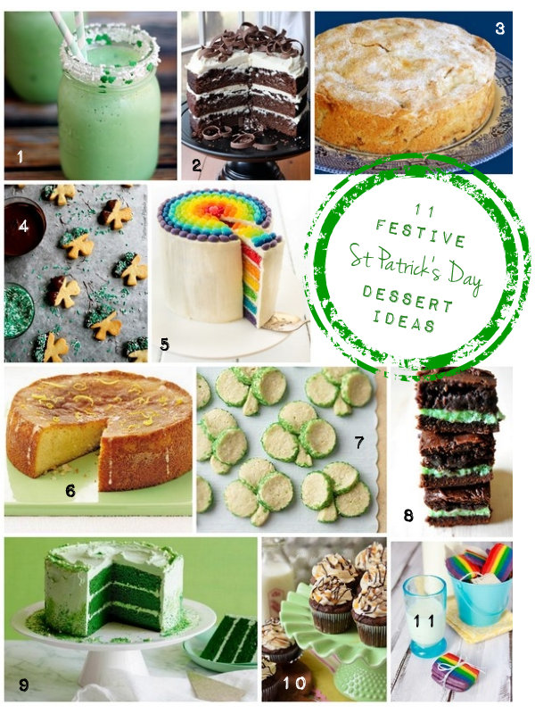 11 St Patrick's Day Recipe Ideas