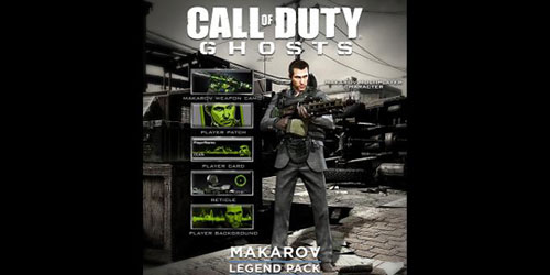 Call of Duty: Ghosts DLC - Makarov Legend Pack to be released today
