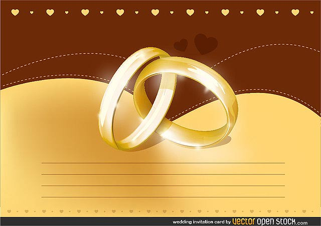 Wedding Invitation Card fresh best free vector packs kits