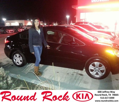 Thank you to Miranda Ochoa on your new car  from Fidel Martinez and everyone at Round Rock Kia! #NewCar by RoundRockKia