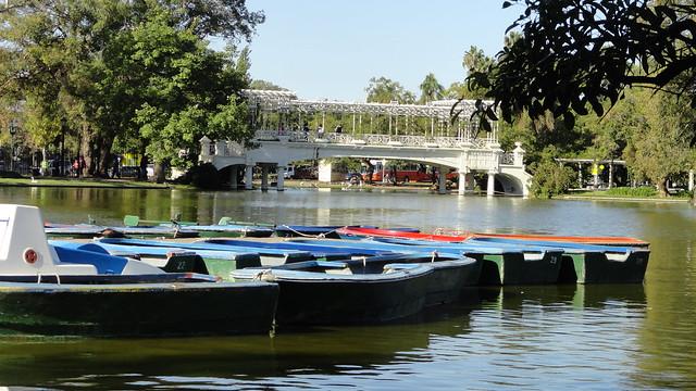 Una hermosa tarde en El Rosedal de Palermo Buenos Aires