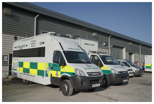 Scottish Ambulance Service, Specialist Operational Service Vehicles March 2014