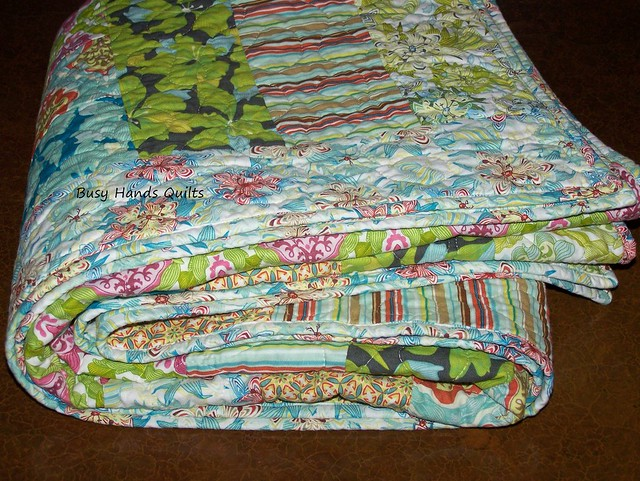 Magic Garden Lap Quilt