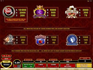 CashOccino Slots Payout