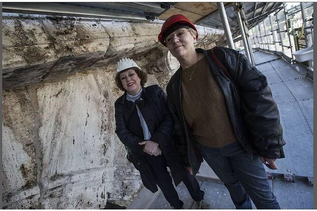 ROMA ARCHITETTURA e BENI CULTURALI: IL RESTAURO - Il viaggio nel tempo del Colosseo Tornano i colori di due millenni fa, CORRIERE DELLA SERA (03|04|2014) & ROMA TODAY (21|03|2014).