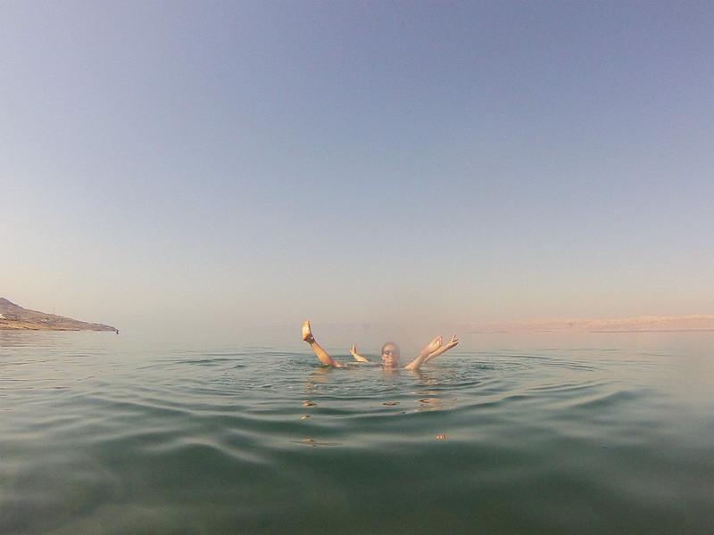 flottaison mer morte