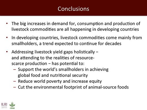Closing Livestock Yield Gaps: Conclusions