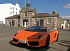 Orange Lamboghini by picqero