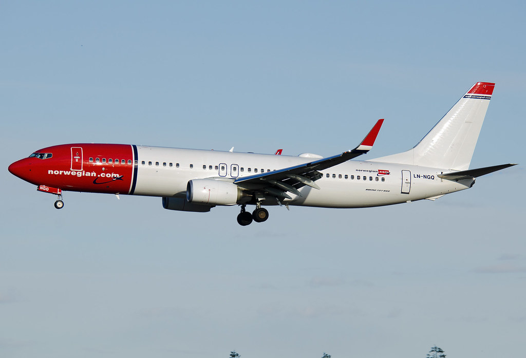 LN-NGQ - B738 - Norwegian