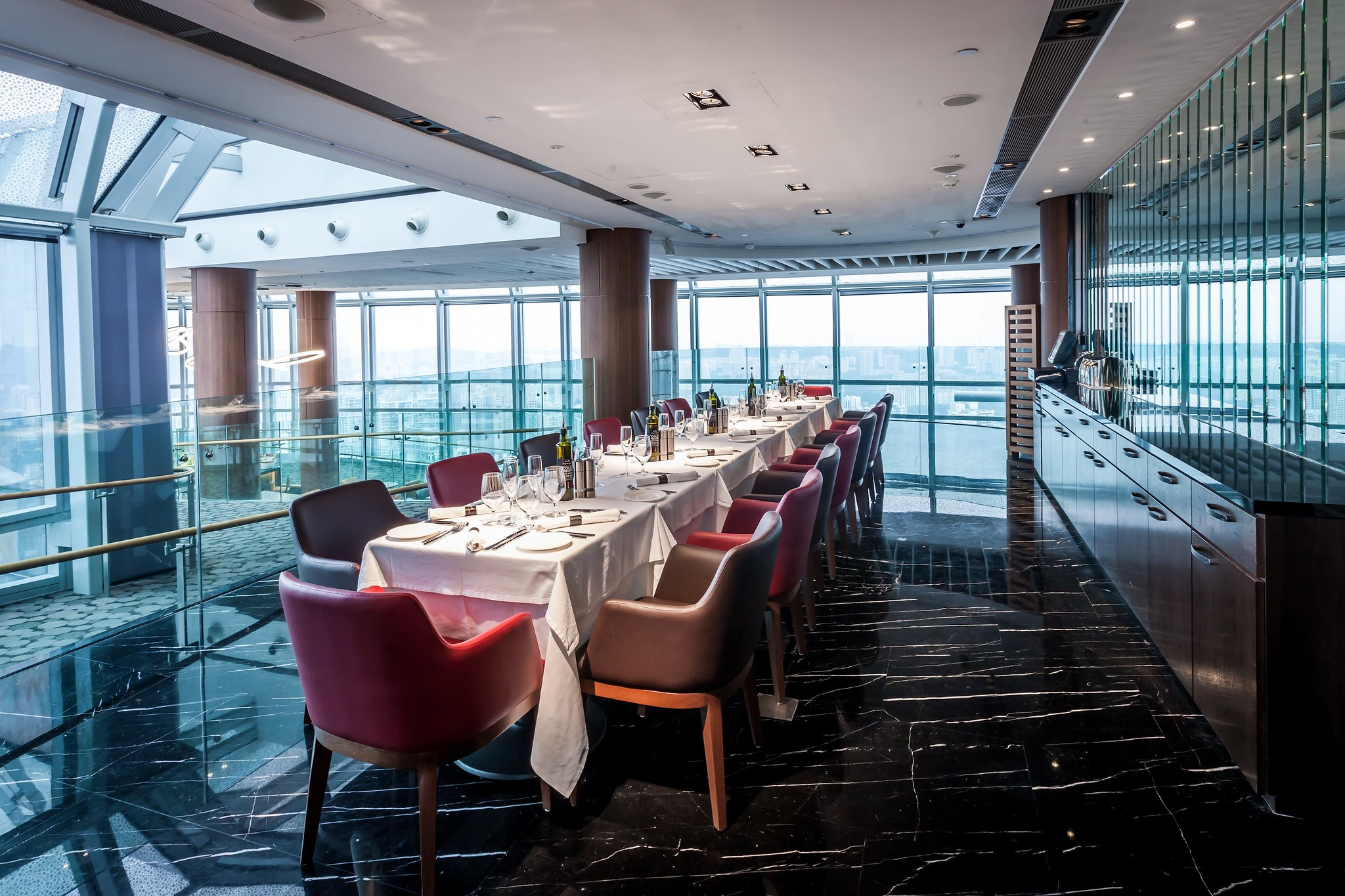 Private Dining Area at Level 56
