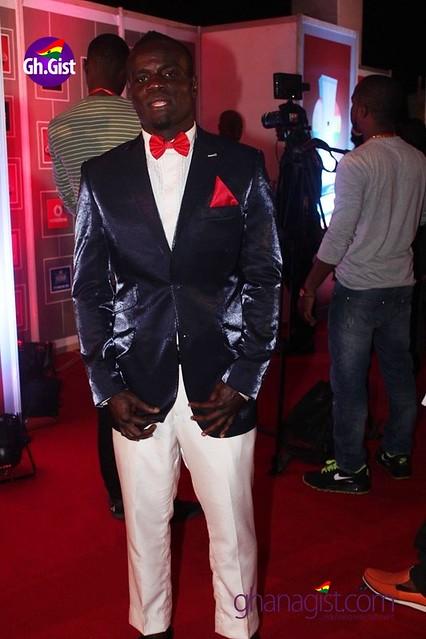 Joshua Clottey at Ghana Music Awards 2014