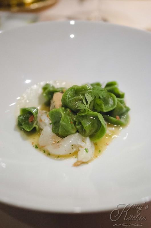la pergola - Tortellini verdi ai frutti di mare