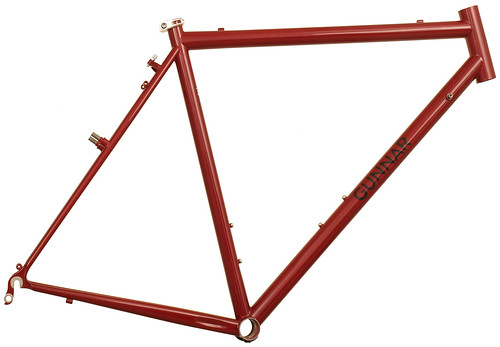 <p>Gunnar CrossHairs Cross / Gravel  Frame.  Highly versatile, the CrossHairs offers a good race fit, confident handling and durable construction for use on paved and unpaved roads plus light trails.</p>