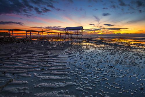 reflection tourism rural sunrise sand nikon asia skies colourful epic sabah textured kualapenyu leefilters d800e nurismailphotography nurismailmohammed nurismail framevillage
