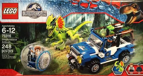 LEGO Jurassic World 75916 Box