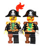 Lego Captain Brickbeard 2015-1989
