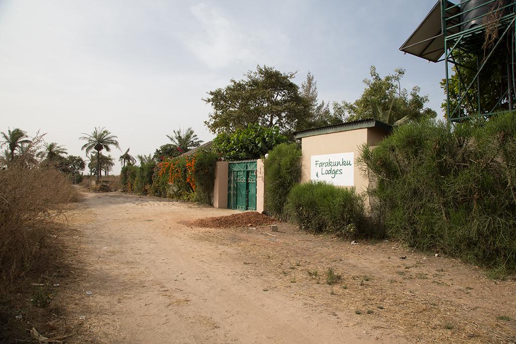 Farakunku entrance  Gambia