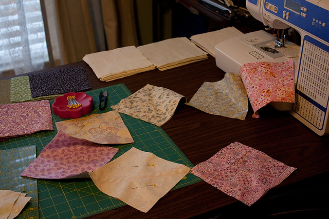 Sewing Half-Square Triangles