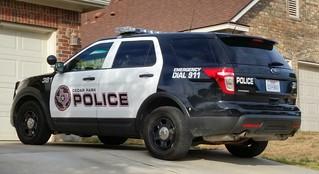 Cedar Park, TX Police Ford Police Interceptor Utility