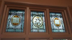 window, wood, molding, glass, interior design, stained glass,